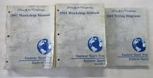 2001 ford explorer sport trac wiring diagram 2001 ford explorer sport trac service shop repair manual   wiring  2001 ford explorer sport trac service