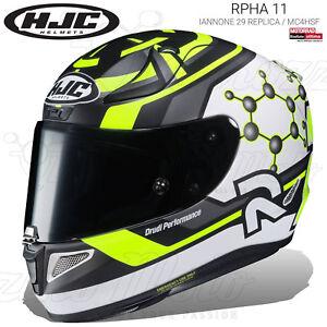 CASCO INTEGRALE HJC RPHA 11 ANDREA IANNONE 29 REPLICA / MC4HSF 2019 MOTO PINLOCK