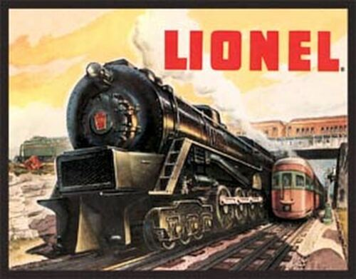 Lionel 5200 Vintage Retro Tin Metal Sign 16Wx12.5H