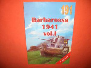 Hingebungsvoll Tank Power Militaria Ledwoch 191, Barbarossa 1941 Vol.i üPpiges Design