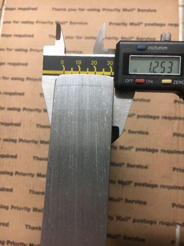 """1 1//4 X 6 Flat Steel THICK Bar Plate Machining Blacksmithing Target 12/"""" Long"""