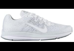 AA7406-100 Men's Nike Air Zoom Winflo 5 Running Shoes White/Grey Sizes 8-12 NIB