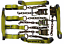 thumbnail 2 - 8 Point Roll Back Tie Down System Chain Ends for Car Hauler Carrier Tow Truck