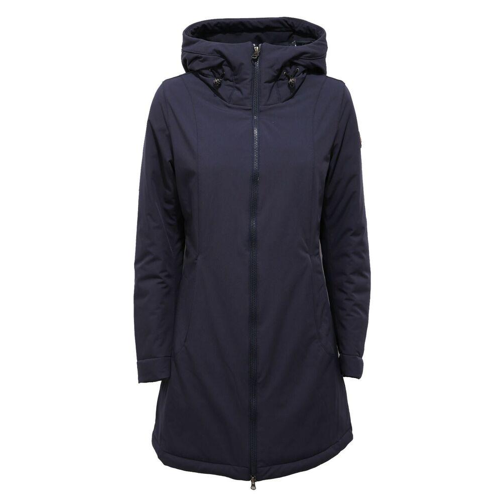 4042ab Giubbotto Parka Donna Blue Colmar Jacket Woman