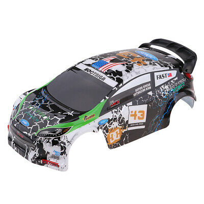 Pre-Painted Body Shell Bodywork Canopy for WLtoys K989 1:28 Scale Rally Car