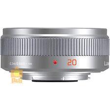 NEW BOXED PANASONIC LUMIX G 20mm/F1.7 II H-H020A-K LENS / SILVER  4 GF5 GX1 G5