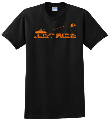 YOUTH JUST RIDE WAKE BOARD BOAT T SHIRT SKATE WAKEBOARD KID CHILD S M L