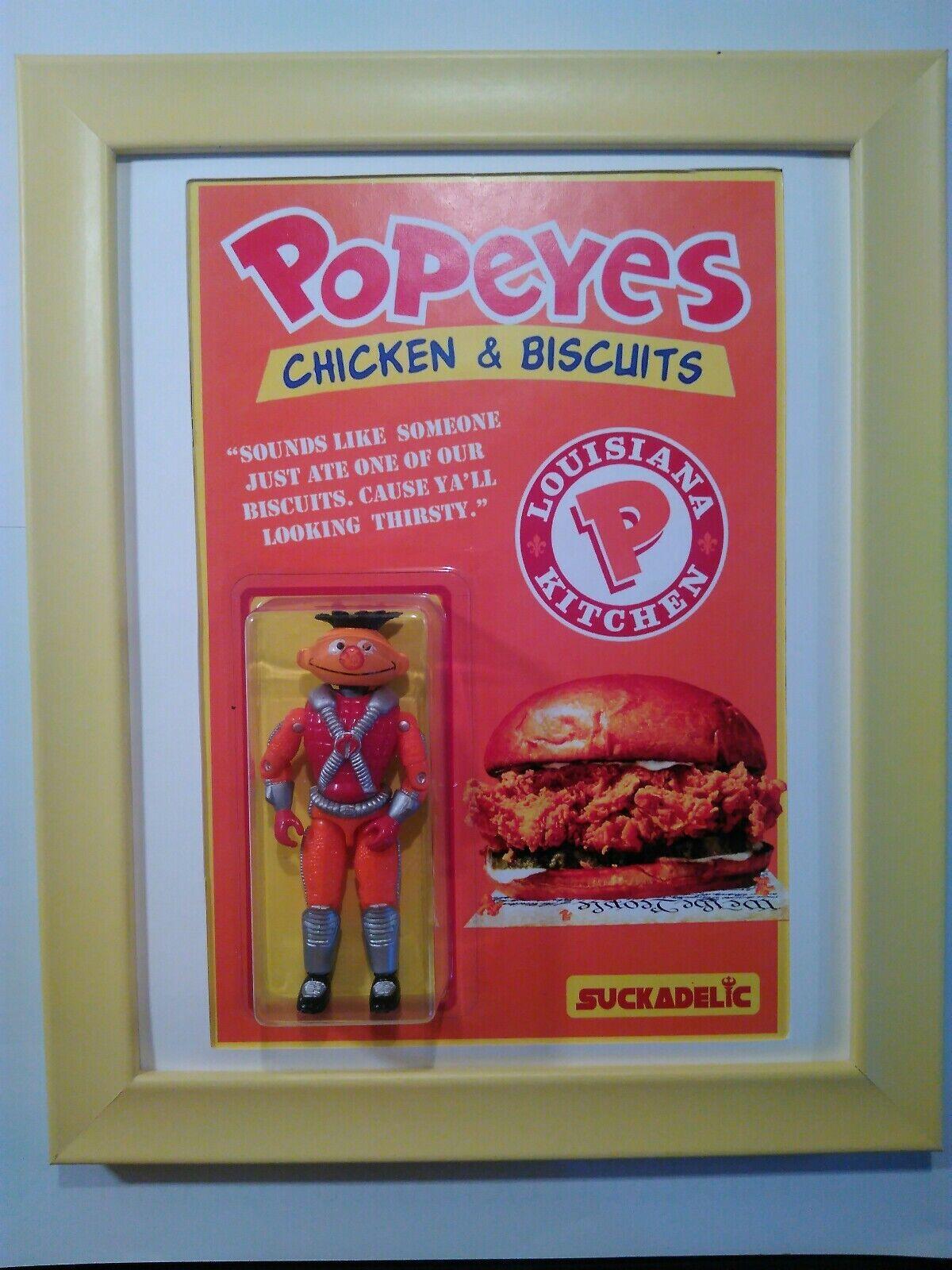 Sucklord Popeyes sándwich de pollo comida rápida SUCKADELIC botaleg Ernie G.i. Joe