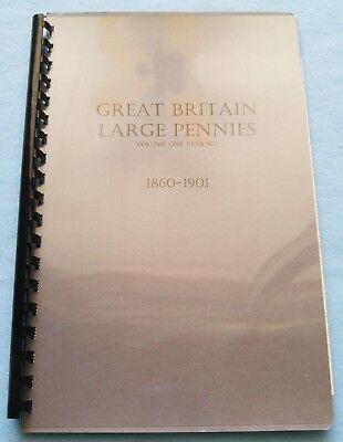 NEW WHITMAN FOLDER #9682 GREAT BRITAIN PENNY 1881-1901