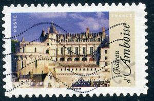 TIMBRE-FRANCE-AUTOADHESIF-OBLITERE-N-1108-ARCHITECTURE-AMBOISE
