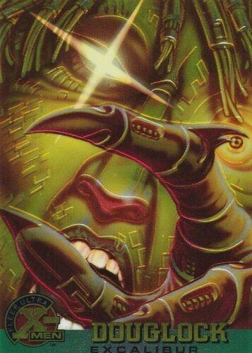 "1995 FLEER ULTRA X-MEN CHROMIUM BASE CARD #26 /""DOUGLOCK/"""