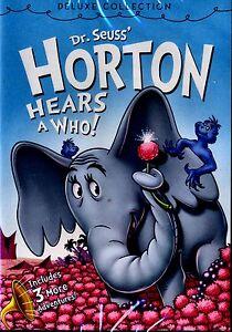 new deluxe dvd dr seuss horton hears a who 1970 original