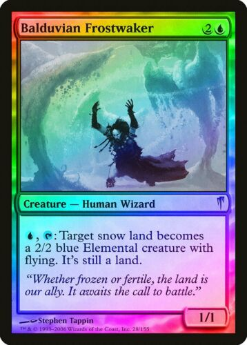 Balduvian Frostwaker FOIL Coldsnap NM-M Blue Uncommon MAGIC MTG CARD ABUGames