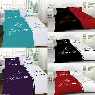 Duvet Cover Set With Pillow Cases Size Double King Super My Space Your Space