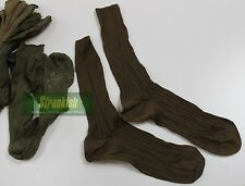 LOT OF 10 x PAIRS of CZECH ARMY SOCKS UK SHOE SIZE APPROX 7 - 9