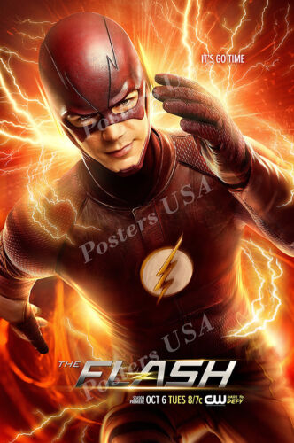 Posters USA TVS368 DC The Flash TV Show Series Poster Glossy Finish