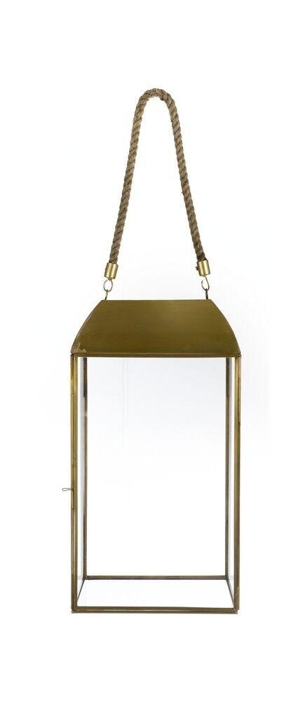 Windlicht Laterne Laterne Laterne Gold antik Metall Glas Weiß Mariclo Toskana | Sehr gute Qualität  e4a876
