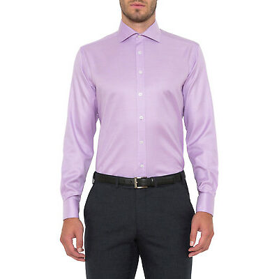 NEW Cambridge Business Shirt Lilac
