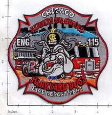 Illinois - Chicago Engine 115 IL Fire Dept Patch v2