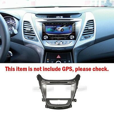 GPS Dash Fascia Audio Integrated for 2011 - 2015 Hyundai Elantra MD / Avante MD