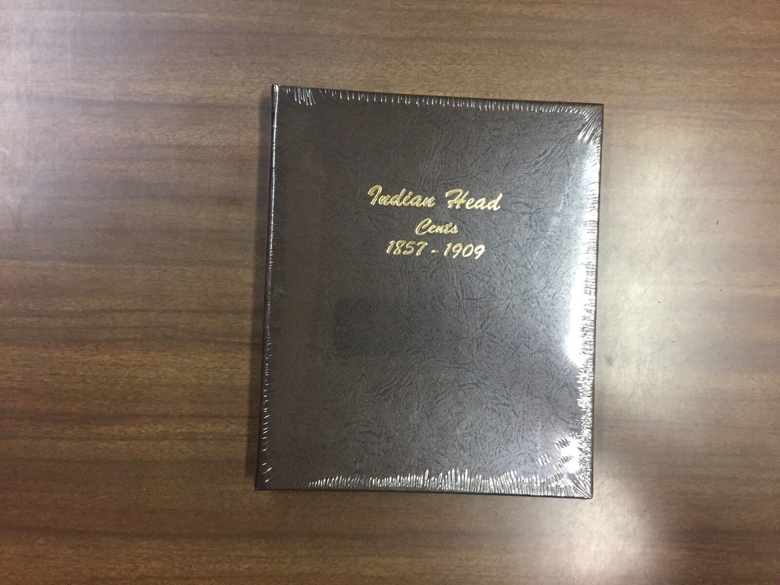 INDIAN HEAD CENT DANSCO ALBUM #7101-1857 to 1909 NO COINS ALL SLEEVES