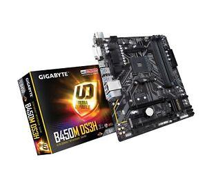 Details about GIGABYTE B450M DS3H (AMD Ryzen AM4/M 2/HMDI/DVI/USB  3 1/DDR4/Micro ATX/Mother