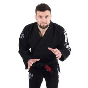 Détails Sur Jiu Bjj Collection Jitsu Kimono Uniforme Tatami Noir Signature Gi dCxtsrhQ