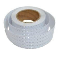 3M x 50MM High Intensity Reflective Tape WHITE Self Adhesive Vinyl Vehicle C12
