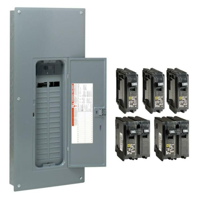 Main Breaker Indoor Plug On Neutral Load Center Contractor Kit 60 Circuit 100Amp