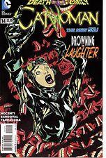 CATWOMAN #14 / DEATH OF THE FAMILY / 1ST PRINT  / BATMAN / NEW 52 / JOKER