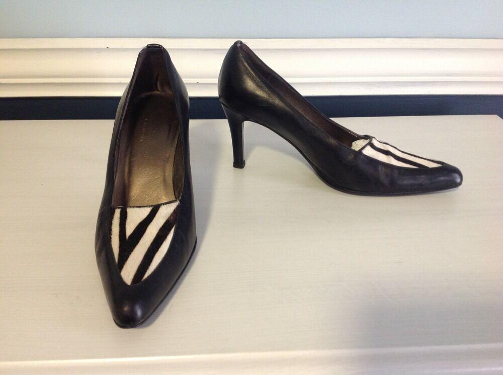 Franco Barbieri Heels Made In  Sz 7.5 M Leather
