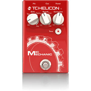 TC-Helicon-Mic-Mechanic-2-Vocal-Reverb-Delay-Pitch-Correction-Tone-Effects-Pedal