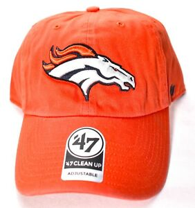 reputable site 377a9 cb8e6 Image is loading DENVER-BRONCOS-039-47-Brand-Clean-Up-Hat-