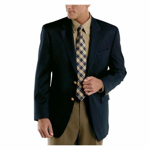 New Chaps Men's Wool-Blend 2-Button Blazer Sport Jacket Size 48 Long MSRP $175