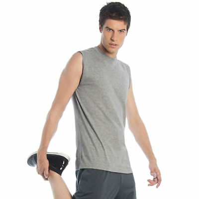 B&c Collection Ba113 Mens Exact Move Sleeveless T-shirt Gym Sportswear Vests Top Agreeable To Taste Shirts