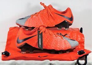 7a5e9d994 Nike Hypervenom Phantom III FG Flyknit ACC Soccer Cleats Sz 7 NEW ...