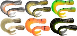 Nouveau-Savage-Gear-3D-Hard-Eel-Spare-tails-1-short-1-long-to-fit-17-cm-ou-25-cm-leurre
