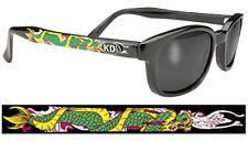 KD's Smoke SAMCRO Sunglasses Tattoo Dragon Sons of Anarchy W Pouch 2221