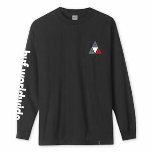 HUF-PRISM-TRIPLE-TRIANGLE-LONG-SLEEVE-TEE-SHIRT-BLACK