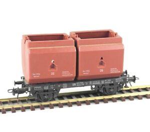 TRIX-EXPRESS-3466-Spur-H0-Kuebelwagen-Okmm-58-DB-Epoche-III-lesen