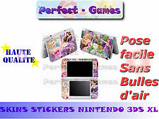 Skin sticker auto-collant vinyl Barbie n°1 pour console nintendo 3DS XL LL