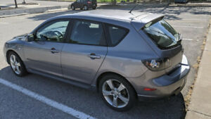 2006 Mazda 3 Gt hatchback 2.3 ltr 4cyl,auto,air conditioning,