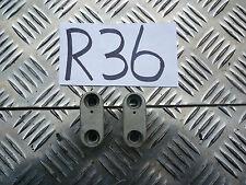 R36 DERBI SENDA DRD PRO SM50 50 SM HANDLEBAR RISER CLAMPS *FREE UK POST*