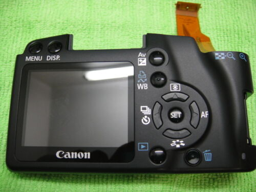 GENUINE CANON EOS REBEL XS //1000D BACK CASE COVER WITH LCD REPAIR PARTS