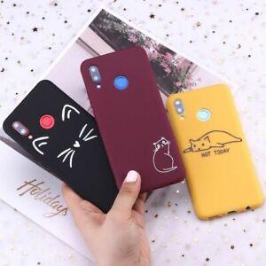 Cat Phone Case For Xiaomi Mi Redmi Note 5 6 7 8 9 Silicone Funny Ultra Thin Gift