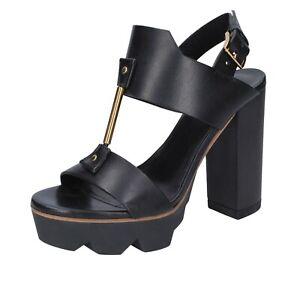 MATIE VIC Scarpe sandali donna BT272 tessuto bianco