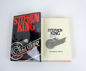 Stephen King Signed Autograph Christine 1st Edition/1st Print Hardcover Book