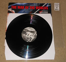 War Of The Worlds Soundtrack Black vinyl Import reissue cover sleeve is a poster