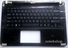 New SONY VAIO SVF142C29L SVF-142C29L SVF143A25T US keyboard black non-touchpad