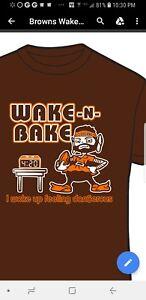 1b373a133 Baker Mayfield Wake and Bake woke up feeling Dangerous T shirt ...